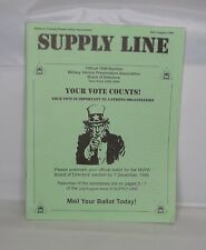 1999 Military Vehicle Preservation Association Supply Line B.O.D Election Issue