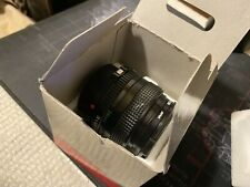 Canon FD 28mm 1:2.8 F/2.8 Manual Wide Angle Prime Lens With Box Minty