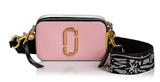 🌺🌹MARC JACOBS Snapshot Saffiano Leather Crossbody Baby Pink Multi/Gold
