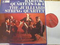 CBS 61119 Bartok String Quartets Nos. 3 & 4 / Juilliard String Quartet