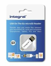 Micro SD SDHC SDXC USB Memory Card Reader for Android Smart Phone or Tablet.