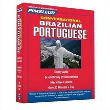 Pimsleur Portuguese (Brazilian) Conversational Language Course - 8 CD set