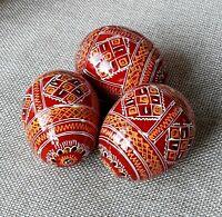 "Set of 12 Unfinished Wood Eggs Decorate for EasterPysanky Pysanka Handmade 1,8/"""