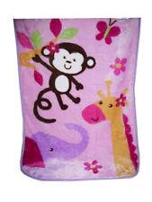 nojo baby girls jungle nursery bedding ebay
