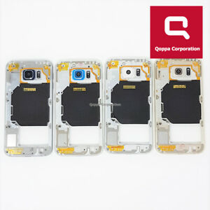 Samsung Galaxy S6 (G920F) - Genuine Middle Chassis Housing With Parts - Fast P&P