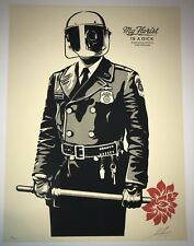 Shepard Fairey My Florist Is A Dick Print 2015 OBEY Giant Poster Mint Sold out