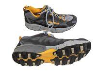 Montrail Mens US 11.5 EUR 45.5 Gray Yellow Goretex XCR Hiking Shoes