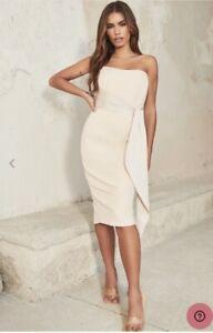 lavish alice champagne dress size 12