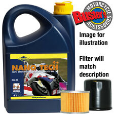 Piaggio Zip 125 2001 5w40 Oil & Filter Kit