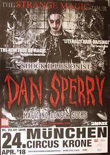 Dan Sperry-Tourposter/tourplakat 2018-Munich-Neuf