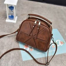 Women PU Leather Handbag Shoulder Crossbody Bag Tote Messenger Satchel Purse