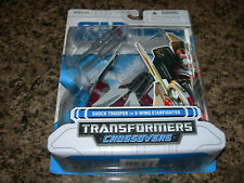 Star Wars Transformers Crossovers SHOCK TROOPER to V-Wing Starfighter 2009 NEW