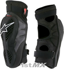 Alpinestars Sequence Off Road Motocross MX Race Knee Guards Adults Large XLarge