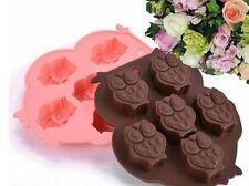 6-Cavità Stampo in silicone GUFO per saponi, Ices, CIOCCOLATINI & More