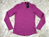 Women's UNDER ARMOUR ColdGear Long Sleeve Fitted Mock Neck Shirt Size Medium