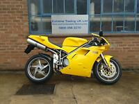 Ducati 996 Monoposto 2002 low miles in Stunning Yellow