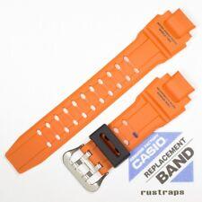 CASIO orange rubber watch band for GA-1000, 10448982