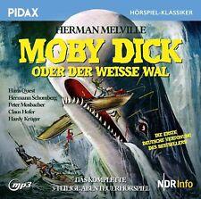 Moby Dick oder Der weiße Wal * CD Abenteuerhörspiel Herman Melville MP3-CD Pidax