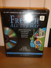 French All the Way Learn at Home on the Go Living Language Staff CD Audiobook
