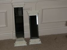 PAIR OF WALL MIRRORS BEVELED EDGES ~ Wall Accents ~ VERY PRETTY