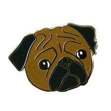 Pug Face Enamel Pin Lapel Brooch cute pugs dog