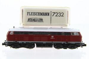 N Fleischmann 7232 DB 210 002-2 Diesellok analog +OVP/J60