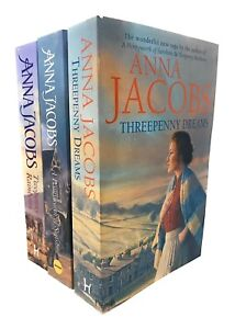 Anna Jacobs The Irish Sisters 3 Books Set Collection Inc Twopenny Rainbows ...