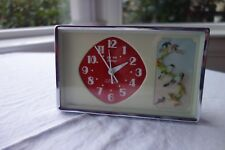 1960'S CHINESE ORNAMENTAL ALARM CLOCK - WIND UP MECHANISM - WORKING