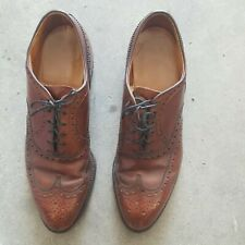 New listing FootJoy Wing Tip Men's Club  Brown 9 M Shoes Free Shipping