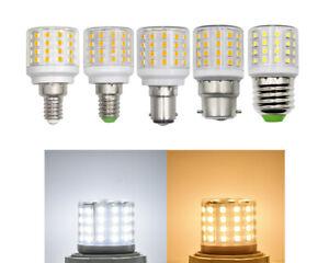 E12/E14/E27/BA15D/B22 LED Bulb 6W 110~265V 56-2835SMD Ceramics Light Replace G45