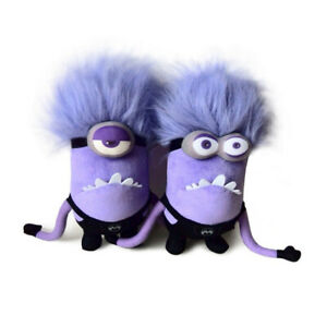 """Despicable Me 2 Purple Poisioned Minion Soft Stuffed Plush Doll Toy 11"""""""