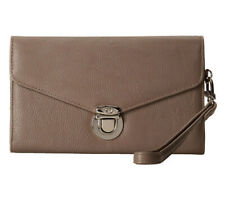 STEVE MADDEN Push Lock Wallet - Faux Leather (Taupe) - NWT