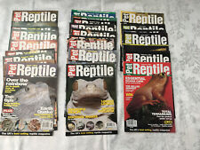 RARE - PET REPTILE MAGAZINE COLLECTION -  NUMBERS 21 - 46