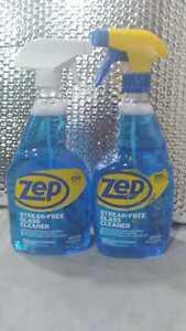 Zep Streak-Free Glass Cleaner 32oz ~ Lot of 2