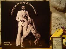 PATRICK CONRAD Gelukkig Als In Het Bijzijn Van Een Vrouw LP/1973 Belgium/Psych