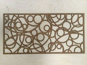 Radiator Cabinet Decorative Screening Radiator Grilles MDF 3mm and 6mm item A33