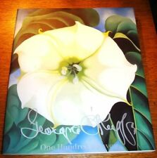 GEORGIA O'KEEFE, ONE HUNDRED FLOWERS, 1989, SOFTCOVER, 1ST THUS, NEAR FINE CONDI