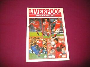 LIVERPOOL SOCCER SPECIAL BOOK 1992