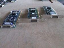 LOT OF 3 Adaptec ASR-2200S 64MB SCSI Raid Controller Dual 2 Channel