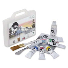 Bob Ross Basic Landscape Oil Painting Kit - with instructions POSTAGE FREE
