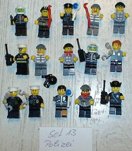 15x LEGO FIGUREN MENSCHEN Polizei Set Nr.13