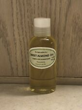Sweet Almond Oil Organic Pure Cold Pressed by Dr.Adorable 4 Oz - NEW - FAST!