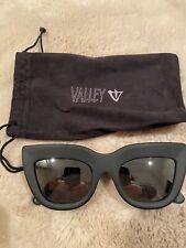 Valley Eyewear Marmont Matte Black Never Worn Without Box