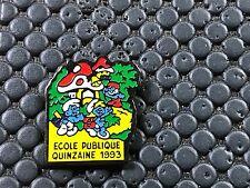 pins pin tintin bd SCHTROUMPF ECOLE CHAMPIGNON MUSHROOM