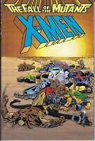 X-MEN: THE FALL OF THE MUTANTS 1ST PRINT TPB NM- CLAREMONT/SILVESTRI MARVEL