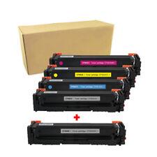 5 Toner Cartridge CF500X 202X Black Color Set For HP LaserJet Pro M254dw M281fdw