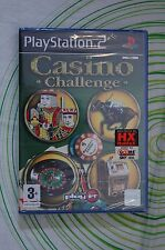 CASINO CHALLENGE ps2 pal NUOVO