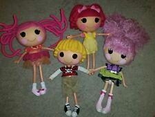 4 grandi bambole Lalaloopsy... ottime condizioni