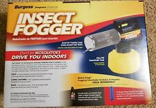 Burgess 16443652N 44 oz. Propane Fogger AND Black Flag Fogging Insecticide
