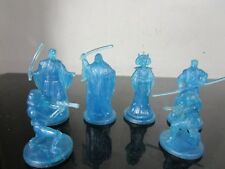 Star Wars Saga Collection Hologram MIni Figure blue lot cake toppers